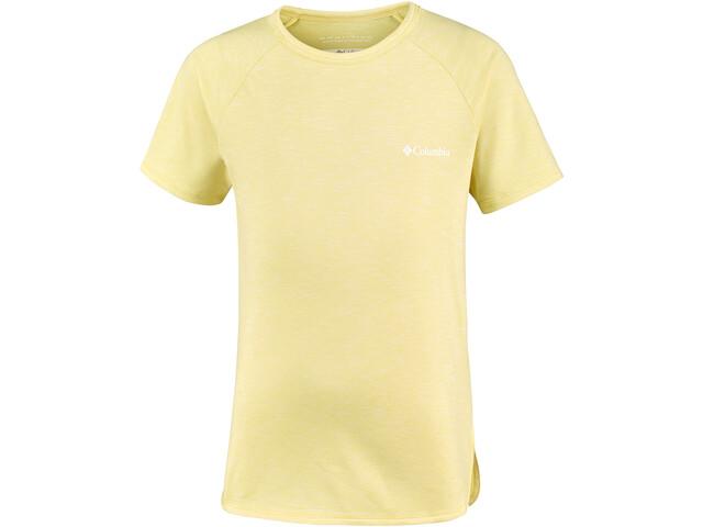 Columbia Silver Ridge II Lyhythihainen T-paita Tytöt, sunnyside heather
